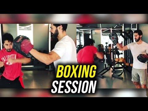 WATCH Varun Dhawan BOXING, Workout Training with Dino Morea