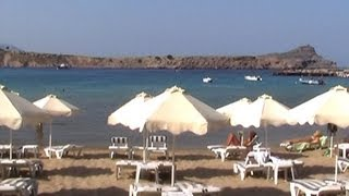Lindos - On the Beach