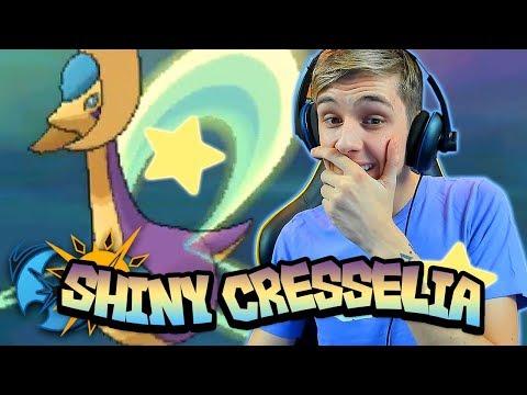 connectYoutube - LIVE SHINY CRESSELIA EPIC REACTION! Pokemon Ultra Sun And Ultra Moon Live Shiny Reaction!