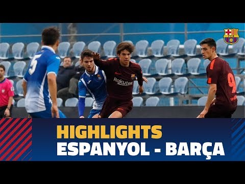 [HIGHLIGHTS] FUTBOL (Juvenil A): Espanyol - FC Barcelona (1-1)