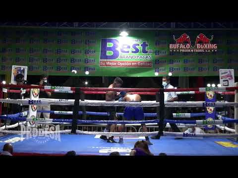 Giovanny Tellez VS Moises Garcia - Bufalo Boxing Promotions