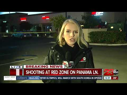 Shooting at Red Zone Sports Bar & Grill in Southwest Bakersfield