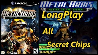 Metal Arms: Glitch in the System - Longplay Full Game Walkthrough All Secret Chips (No Commentary)