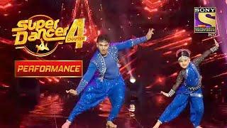 Esha का सुपर Energetic Performance | Super Dancer 4 - SETINDIA