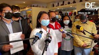 Ahora en DF| Fujimori pide la nulidad de 200.000 votos por