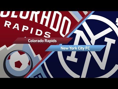 Highlights: Colorado Rapids vs. New York City FC | September 16, 2017