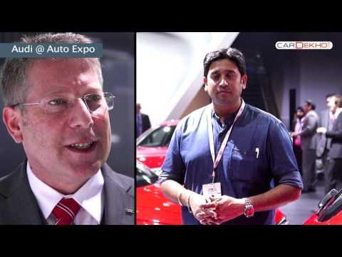 In Conversation with Joe King, Head - Audi India | CarDekho@AutoExpo2016