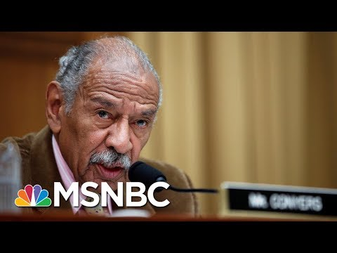 Rep. John Conyers Denies Settling Sexual Harassment Complaints With Staff | Velshi & Ruhle | MSNBC