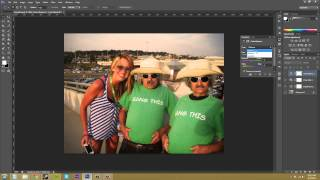 Photoshop CS6 Tutorial - 71 - How to Merge Adjustment Layers