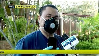 Confirman cuatro médicos contagiados con COVID - 19 en San Pedro Sula