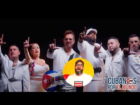 Otaola sobre el tema musical Qué Se Vayan Ya de Willy Chirino junto a reguetoneros cubanos
