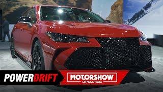 2020 Toyota Camry & Avalon TRD : Luxury gets sportier : 2018 LA Auto Show : PowerDrift