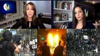 La complicada situación que vive EE.UU con protestas violentas | ENM
