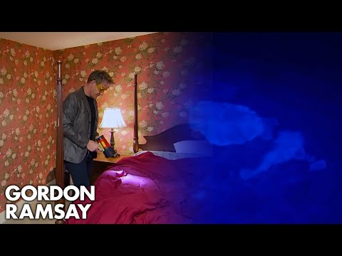 Ramsay Refuses to Swim in Disgusting Hotel Pool | Hotel Hell