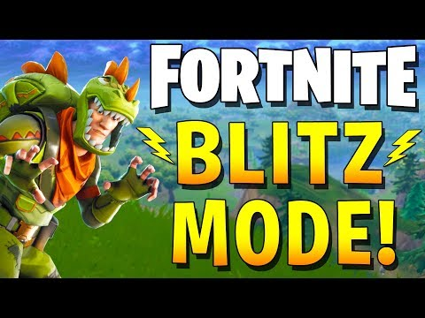 DREAM TEAM TAKES ON BLITZ MODE BEFORE ITS GONE! (Fortnite Battle Royale Gameplay)