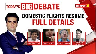 AIRPORTS TO RESUME: THE NEW NORMAL FOR AIR TRAVEL| NewsX - NEWSXLIVE
