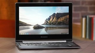 Lenovo's N20p Chromebook is half a hybrid