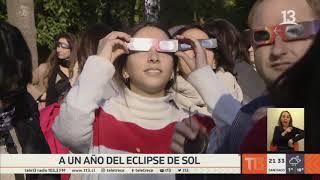 A un año del histórico eclipse total de Sol en Chile