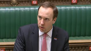 LIVE: Matt Hancock gives Covid-19 update in the Commons