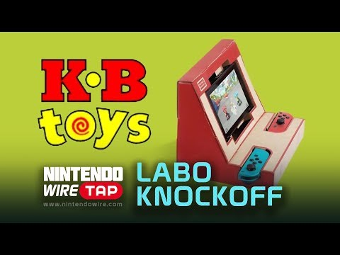 connectYoutube - Knockoff Labo Uncovered & KB Toys Returns   Nintendo Wiretap