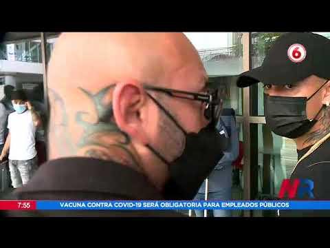 Otro escandalo de Randall Leal: Intentó enfrentarse con un aficionado en el aeropuerto