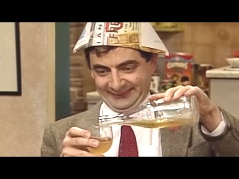 connectYoutube - New Year with Bean | Funny Clip | Classic Mr. Bean