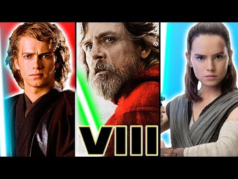 My Issue with REY'S Character vs ANAKIN and LUKE - Star Wars The Last Jedi Explained