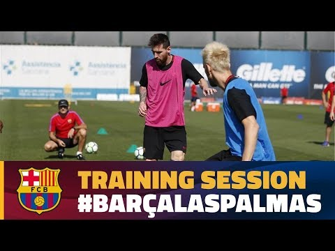 Back to work to prepare for UD Las Palmas
