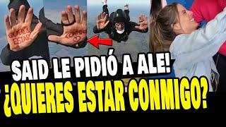 SAID PALAO LE PIDIÓ A ALEJANDRA BAIGORRIA QUE SEA SU NOVIA EN PARACAÍDAS
