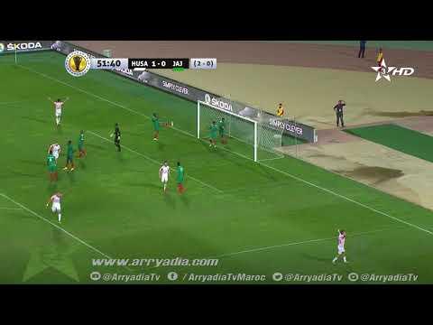 حسنية أكادير 2 -0 جيما أبا جيفار هدف سفيان البوفتيني