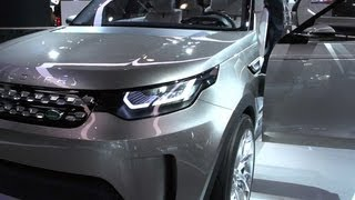 Car Tech - Laser-guided Land Rover