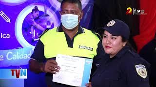 Estelí: bomberos culminan cursos como técnicos en Instalación Eléctrica