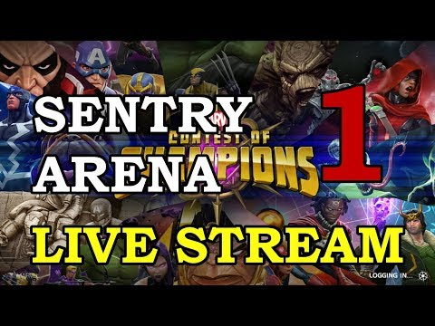 connectYoutube - Sentry Arena - Part 1   Marvel Contest of Champions Live Stream