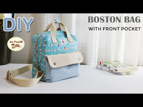 DIY-BOSTON-BAG-WITH-FRONT-POCK