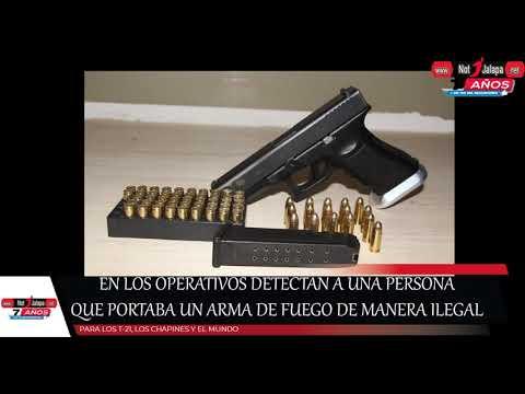 En Los Operativos Detectan A Una Persona Que Portaba Un Arma De Fuego De Manera Ilegal 1