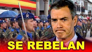 El Ejército SE REBELA contra el Gobierno de Pedro Sánchez