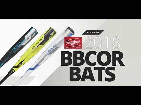 2018 Rawlings BBCOR Baseball Bats