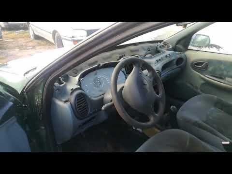 Renault Megane 1998 m dalys