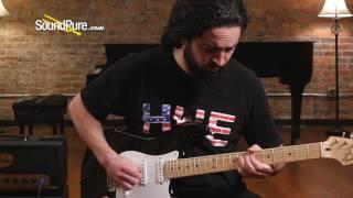 """Fender 2015 American Strat EC """"Blackie"""" #US15068571 (Used) Quick n' Dirty"""