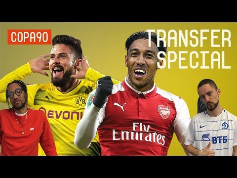 Arsenal to Swap Giroud with Aubameyang? | Transfer Special