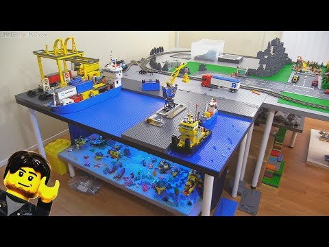 connectYoutube - New Jang City LEGO layout expansion update Jan. 12, 2018