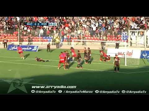 المغرب التطواني 1-0 نهضة بركان هدف يونس الحواصي