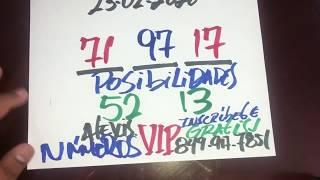 NÚMEROS PARA HOY 23 DE FEBRERO DEL AÑO 2020 - PARA ROMPER EN LAS LOTERÍAS.