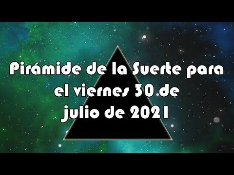 Lotería de Panamá - Pirámide para el viernes 30 de julio de 2021