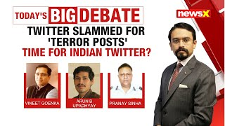 Twitter slammed for 'Terror posts' | Time for Indian twitter? | NewsX - NEWSXLIVE