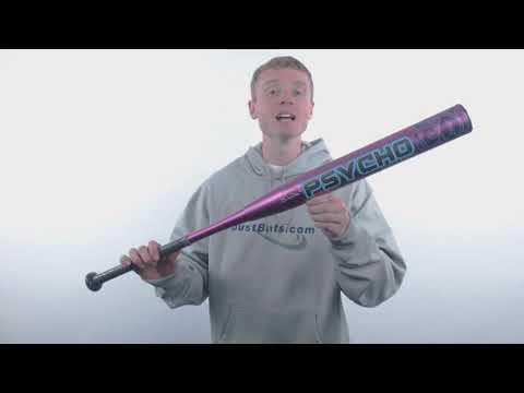 2018 Miken Psycho Maxload USSSA Slow Pitch Softball Bat: MPDILUA