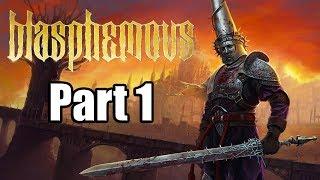 Blasphemous (2019) PC Gameplay Walkthrough Part 1 (No Commentary)