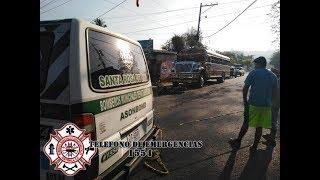 Estudiante muere en accidente en Santa Rosa