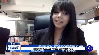 #Teleprensa33 | Presentan modelo de pronósticos por impacto