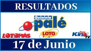 Lotería Quiniela Palé Resultados de hoy
